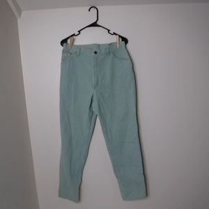 Green Wrangler Jean's